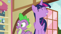 Twilight Sparkle pleased with herself S7E3