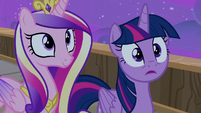 Twilight Sparkle surprised by the gesture S7E22