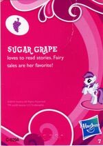 Wave 1 Sugar Grape collector card