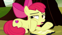 "Apple Bloom ""not like the apples are goin' anywhere"" S8E12"