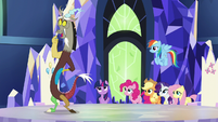 """Discord """"did I get the tiniest bit of glee"""" S5E22"""