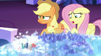 """Fluttershy """"all those lights and sounds"""" S6E20"""