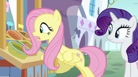 """Fluttershy """"keep their produce in the back"""" S9E24"""