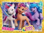 MLP A New Generation 4-in-1 20-piece puzzle by Ravensburger