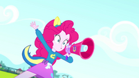 """Pinkie Pie """"when I say 'Blue', you say 'Goal'!"""" SS4"""