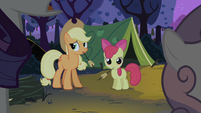 Rarity and Sweetie Belle talk to each other S2E05