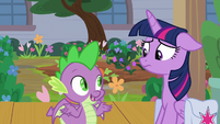 "Spike ""she's bound to be back soon"" S9E5"