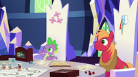 """Spike """"you'll love it once we get started"""" S6E17"""
