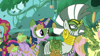 Twilight --if there's a chance Chrysalis will honor her word-- S5E26