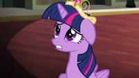 Twilight confused by Princess Luna S4E01