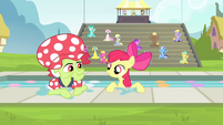 Apple Bloom and Granny Smith resurfacing S4E20