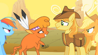 Little Strongheart and Braeburn Awkward S1E21