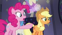 "Pinkie Pie ""three really, really fast ponies"" S8E4"