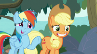 """Rainbow Dash """"all part of our plan"""" S8E9"""
