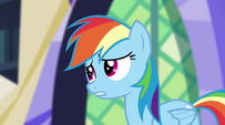 """Rainbow Dash """"the connection between their world and Equestria"""" EG2"""
