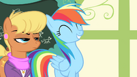 """Rainbow Dash """"you're going to the Games"""" S4E05"""