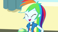 Rainbow Dash having fun with Tank SS7