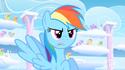 Rainbow Dash un-colored mouth error S01E16