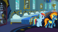 Rainbow excited to meet the team S6E7
