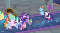 """Rarity """"we just needed a teensy reminder"""" S8E17"""