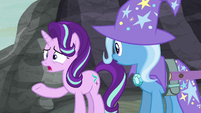 "Starlight Glimmer ""forced them all to hide"" S6E25"