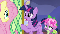 "Twilight Sparkle ""you haven't slept!"" S7E20"