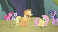 """Applejack """"all of us are scared"""" S1E07"""