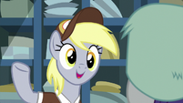 """Derpy """"she is at Sweet Apple Acres"""" MLPBGE"""