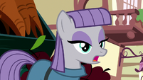 "Maud answers Applejack ""you just did"" S8E18"