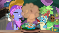 Meadowbrook's mother gets sprayed with pollen S7E20