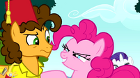"""Pinkie Pie """"are you in, Cheese?"""" S4E12"""