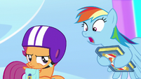 """Rainbow """"this could rock you to your very core"""" S7E7"""
