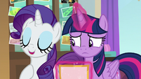 "Rarity ""entirely with my own bits"" S8E16"
