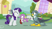 Spike thrilled for Power Ponypalooza S9E19