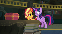 "Sunset Shimmer ""obviously"" EGFF"