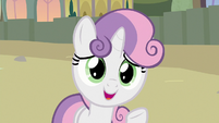 """Sweetie Belle """"visit your sister in Equestria"""" S8E6"""