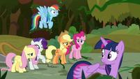 "Applejack ""just growin' back too fast!"" S9E2"