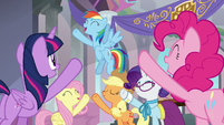 Mane Six ready to teach the students S8E1