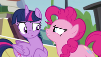 """Pinkie Pie """"what are you doing?"""" S4E22"""