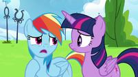 """Rainbow Dash """"he's lost his confidence"""" S6E24"""