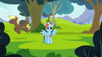 Rainbow Dash --if only there was a way-- S2E22