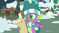 """Spike """"not wrapping paper"""" MLPBGE"""