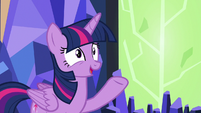 "Twilight ""you of all ponies would know"" S7E1"