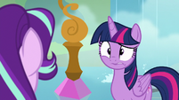 Twilight looking shocked at Starlight S8E2
