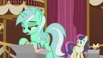 Lyra -some monster attacking Ponyville or something- S5E9
