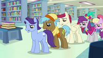 Martingale's fans looking disappointed S9E21