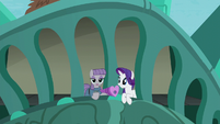 Maud --Especially the glaciation of the sloping strata-- S6E3