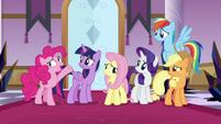 "Pinkie Pie ""defeat King Sombra!"" S9E2"