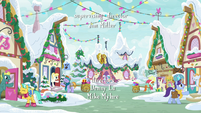 Ponyville during Hearth's Warming time MLPBGE