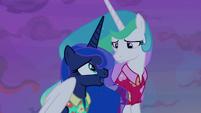 "Princess Luna ""not even your zip line?"" S9E13"